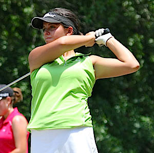 Avery George wins her first GSGA tournament<br>Photo courtesy of AJGA