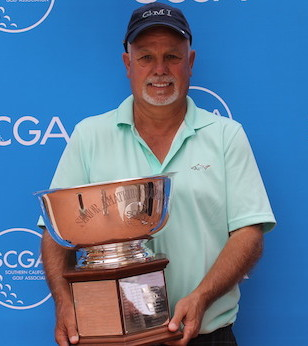 Gary Varnier's 6 back-nine birdies lead him to victory<br> Photo courtesy of SCGA