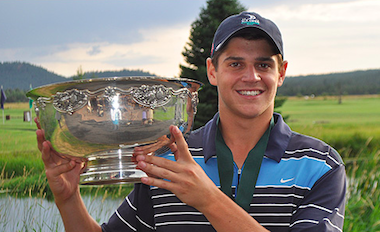 2015 PNGA Amateur medalist Charlie Kern (PNGA photo)