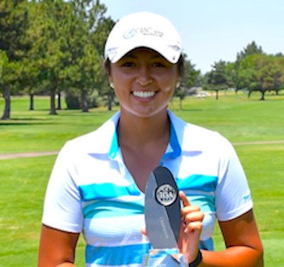 Gabrielle Barker recently won the Idaho Women's Am <br>IGA photo