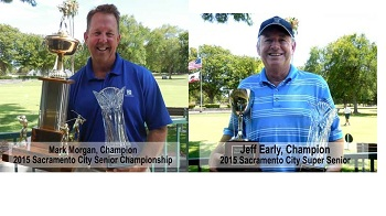 Morgan, Early win respective titles at Sacramento City Senior