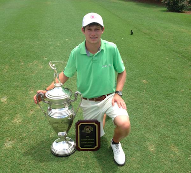 2015 Eastern Amateur winner James Clark<br>(Photo courtesy of the Eastern Amateur)