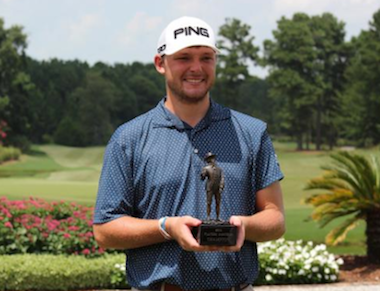 2015 Players Amateur winner Matt NeSmith<br>(Photo credit: Heritage Classic Foundation)