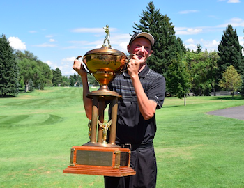 2015 Idaho Amateur champion Andy Hess (IGA photo)