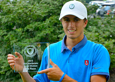 Benevento, Jr. wins the Jock Mackenzie in playoff<br>Photo from GAP