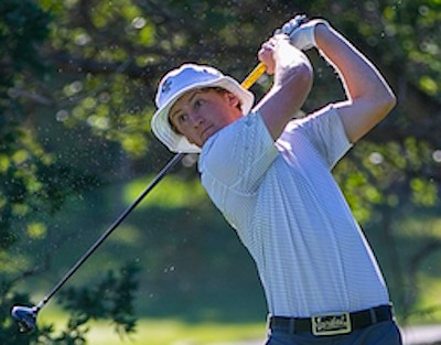 Jared du Toit shares the lead at the BC Am<br>Photo courtesy of Golfweek