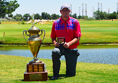 2015 West Texas Am winner Mark Jones, Jr. (TXGA photo)