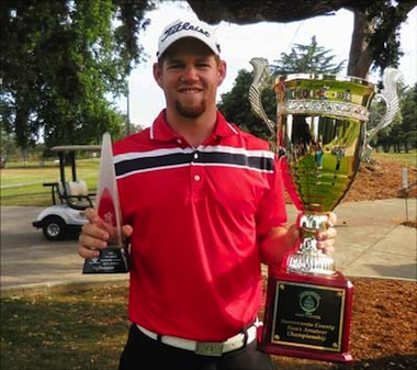 2015 Sacramento County winner Lee Gearhart<br>(Photo courtesy of Sac. Golf Council)