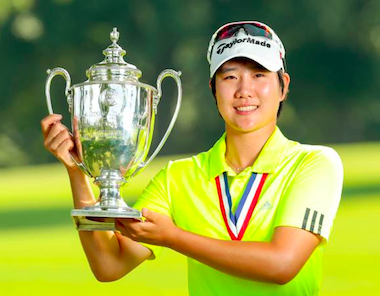 2015 U.S. Girls' junior champion Eun<br>Jeong Seong of Korea (Steven Gibbons/USGA)