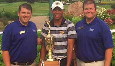 2015 Northern Amateur winner Chase Johnson<br>(Photo courtesy of the Northern Amateur)