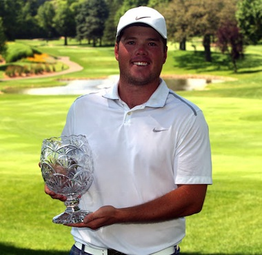 2015 Minn. State Open champ Andrew McCain (MGA photo)