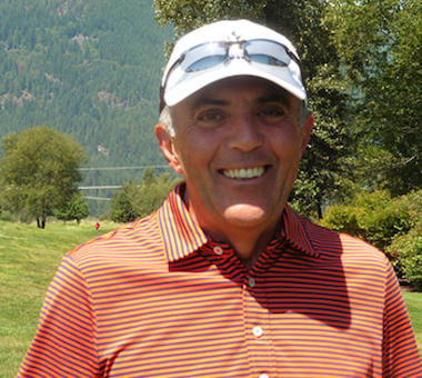 2015 B.C. Senior Amateur winner John Gallacher<Br>(Photo courtesy of British Columbia Golf)