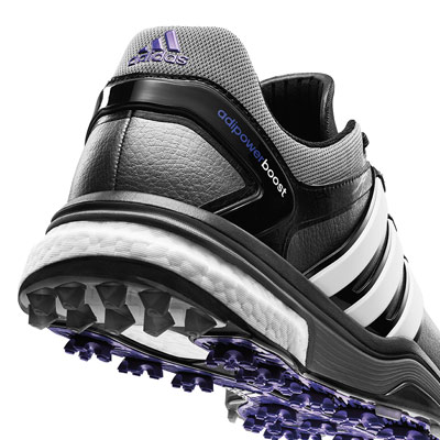 The Adipower Boost from Adidas<br> earns high marks for innovation.