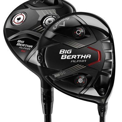 Impressive distance and total control<br> with Callaway's new driver and fairway woods