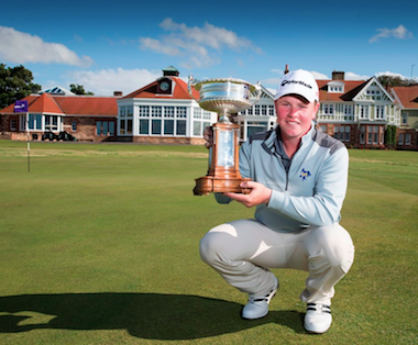 2015 Scottish Am champ Robert MacIntyre (SGU photo)