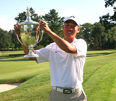 2015 MET Am champion Peter Kim (MGA photo)