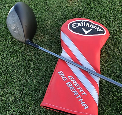 The new Great Big Bertha from Callaway Golf:<br>We've got it, and we can't wait to take it out for a test