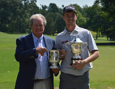 2015 N.C. Match Play winner David Kocher (CGA photo)
