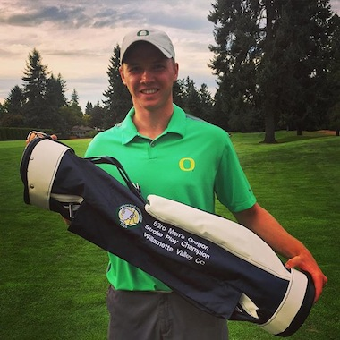 2015 Oregon Stroke Play champion Sulman Raza<br>(Oregon Golf Association photo)