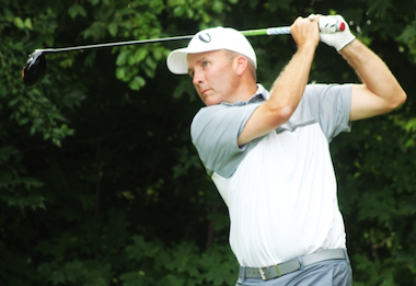 Now two-time Indiana Mid-Amateur champion<Br>Todd Palmer of Fishers (IGA photo)