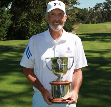2015 NCGA Senior Match Play<Br>champion Jim Knoll (NCGA photo)