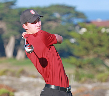 2015 NCGA Match Play champion Maverick<br>McNealy of Stanford (NCGA photo)