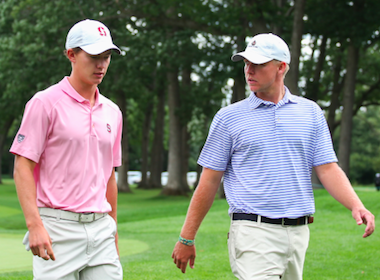 Two Mavericks: McNealy (left) and Antcliff (USGA photo)