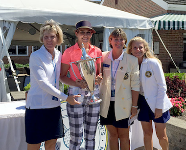 2015 champion Katie Miller (pink) (PSWGA photo)