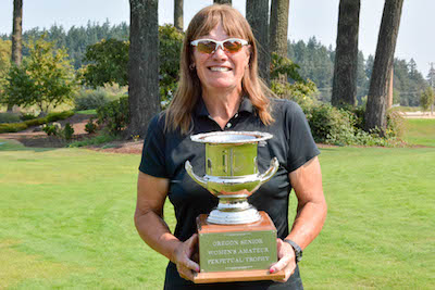 Leilani Norman wins her second Oregon Women's Senior Am<br>OGA photo