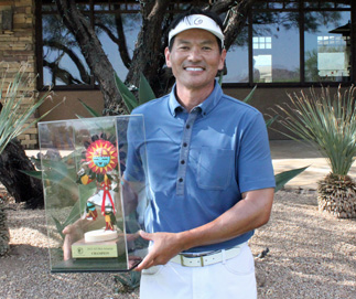 Back-to-back champ Ken Tanigawa<Br>(Ariz. Golf Association photo)
