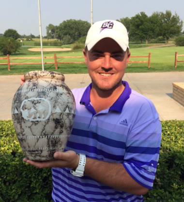 2015 High Plains Amateur winner Tim Jasper (KGA)