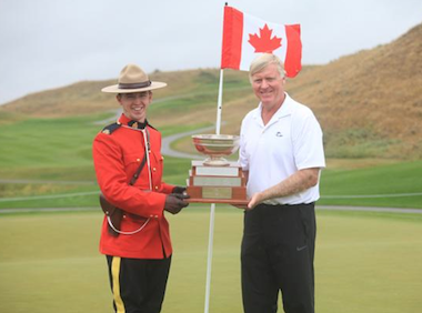 2015 Canadian Senior champ Jack Hall (Golf Canada)