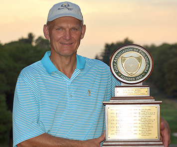 2015 GAP Senior winner Steve Walczak (GAP photo)