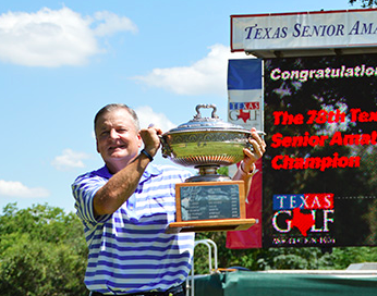 2015 Texas Senior winner Mike Booker (TGA)