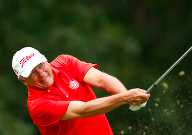 First-round leader Tim Jackson (USGA photo)