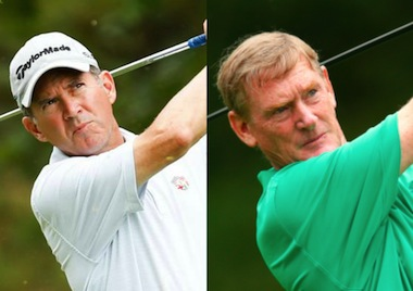 Chip Lutz (left) and Tom Brandes (USGA photos)