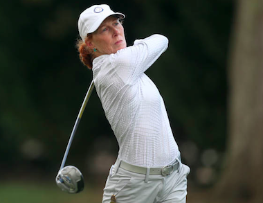 Tama Caldabaugh during her 2nd round match (USGA)
