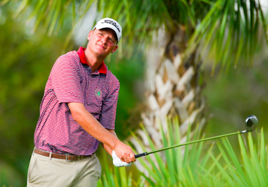 Scott Harvey during round one (Scott Miller/USGA)