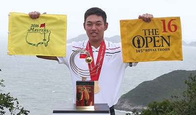 Asia Pacific Amateur winner Cheng Jin (AAC photo)