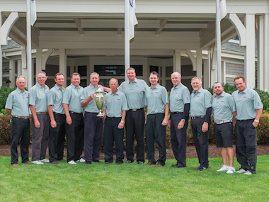 Record 12-time reigning champs Massachusetts (MGA)