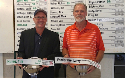 Hume and VanderBie win their divisions<br>MCGA photo