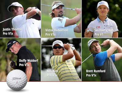 Titleist players have a victorious weekend