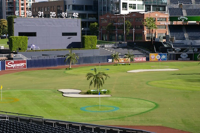 Looking over the Links at Petco Park