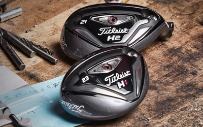 The new Titleist 816H1 and H2 Hybrids