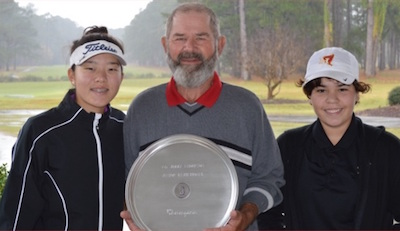 Chang (L) and McDonald (R) named co-champions
