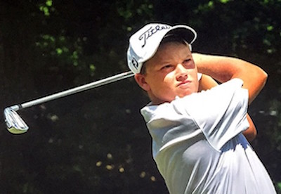 13-year old Gator-commit Joseph Pagdin <br>Golfweek photo