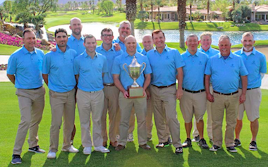 Winners from the Northern California<br>Golf Associaton (NCGA photo)