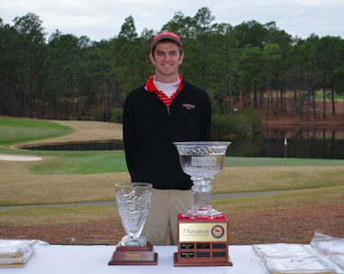 Winner David Sargent (photo courtesy CNCC Am)