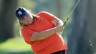 Haley Moore continues to impress<br><i>Courtesy of the LPGA </i>