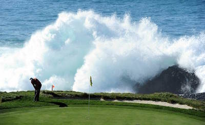 The spectacular surroundings of Pebble Beach<br><i>Courtesy of NCGA</i>